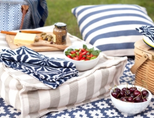 текстиль на пикнике