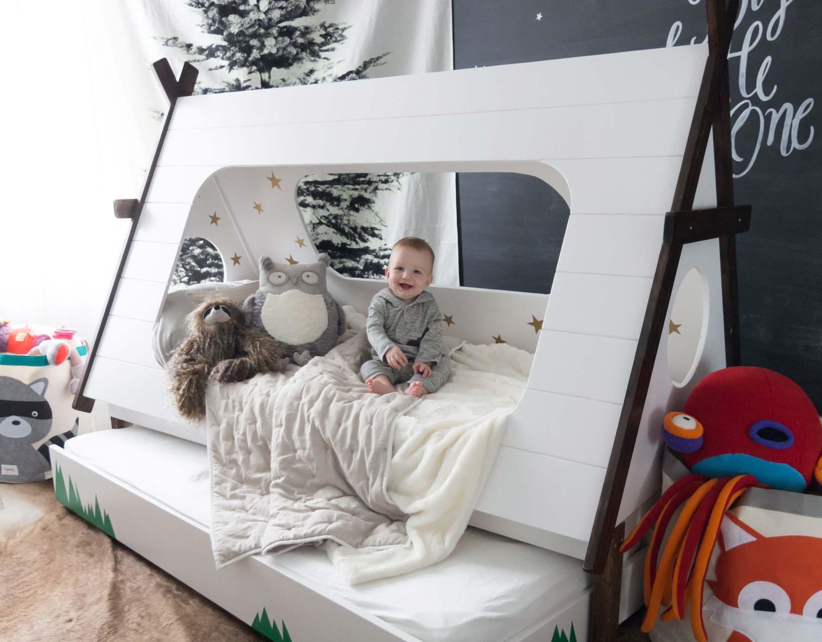 Кровать-палатка для ребёнка