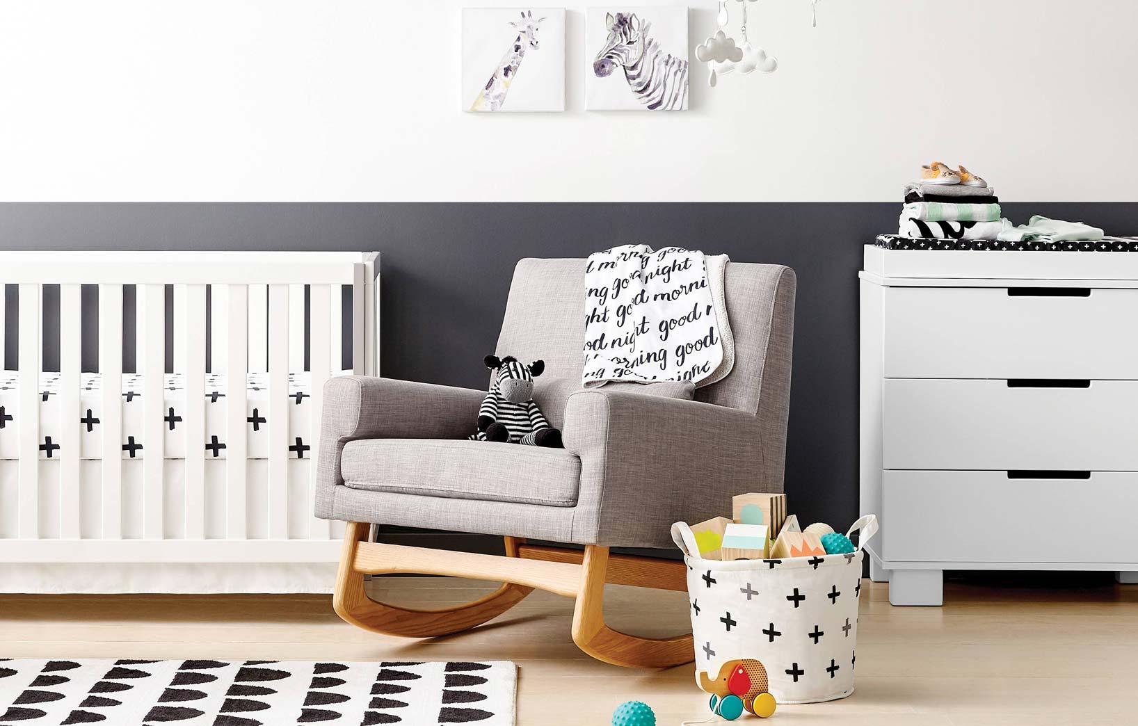Лаконичная детская комната