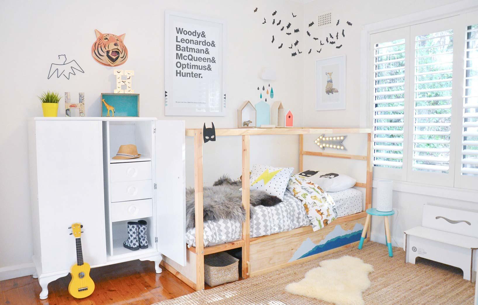 Простой дизайн детской комнаты