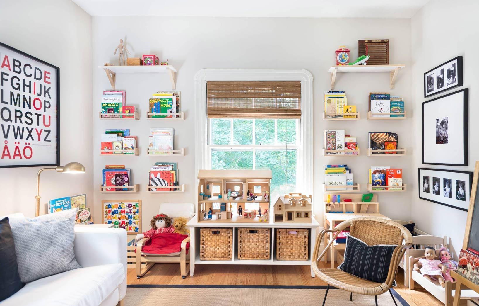 Системы хранения для детской комнаты