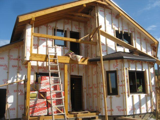 Утепление частного дома снаружи: популярные технологии   обзор материалов