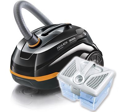 Пылесосы для сухой уборки с Aqua-Box